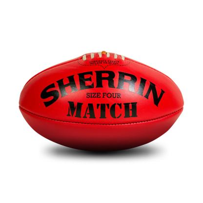 Sherrin Red Match Game Football - Size 4 Hero