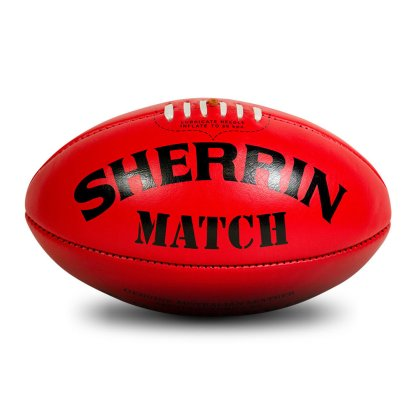 Sherrin Red Match Game Football - Size 5