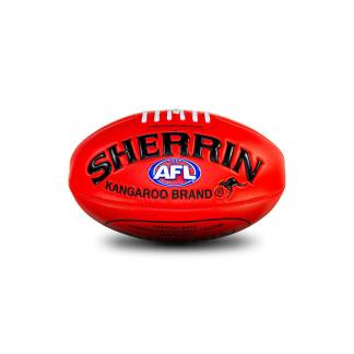 Sherrin Super Soft Touch Red Football - Mini Front