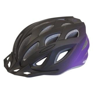Azur L61 Bike Helmet | Purple/Black Fade