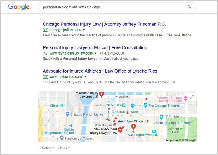 Google Ads personal accident law firms Chicago How to Drive Client Growth with Digital Marketing and a CRM Solution