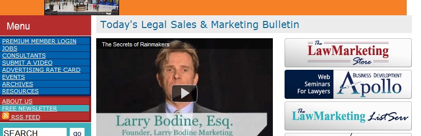Larry Bodine Transforms His Marketing Site to All Video