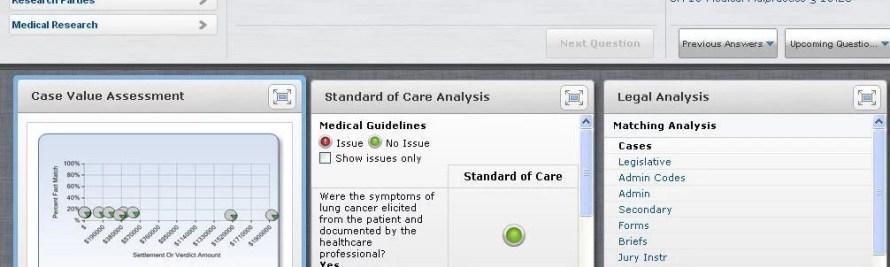LegalTech Report: LexisNexis MedMal Navigator