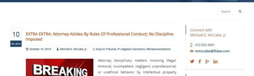 New Legal Blog Appears to be First of its Kind