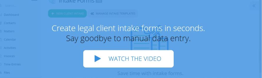 PracticePanther Adds Integrated Client Intake Forms, Saving Firms Data Input Time