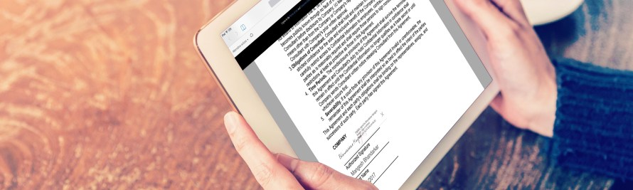 News From Adobe: First Open, Cloud-Based Digital Signature, Plus New Functionality for Adobe Sign