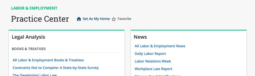 Bloomberg Law Adds New Labor and Employment Tools and Analytics