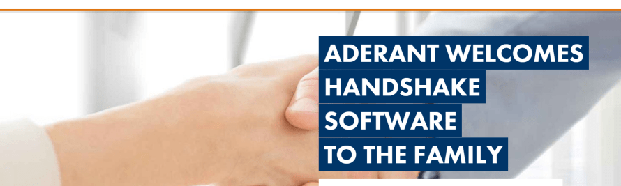 Aderant Acquires Handshake Software, Expanding into Knowledge Management.