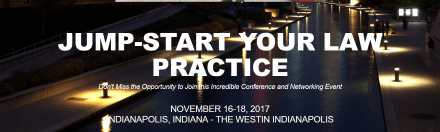A New Conference Coming in November: Jump-Start Your Law Practice