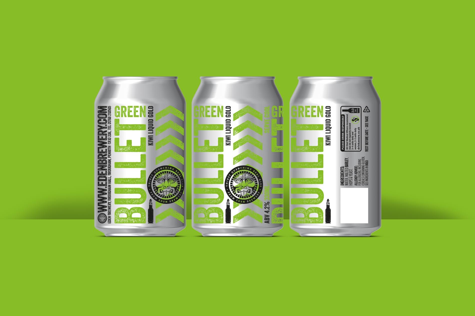 Eden Brewery Beer Can design, Penrith