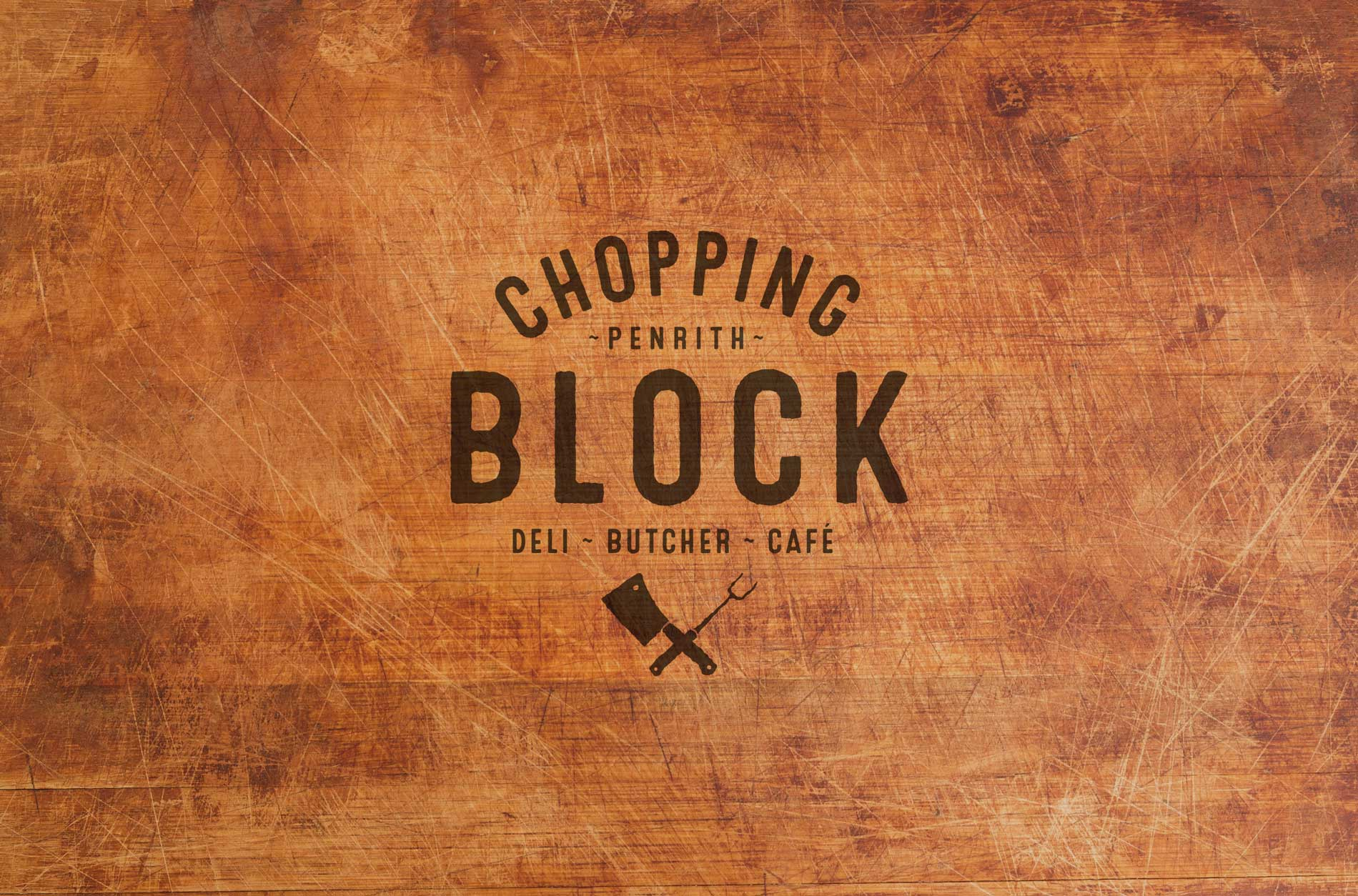 The Chopping Block Butcher & Deli Logo Design