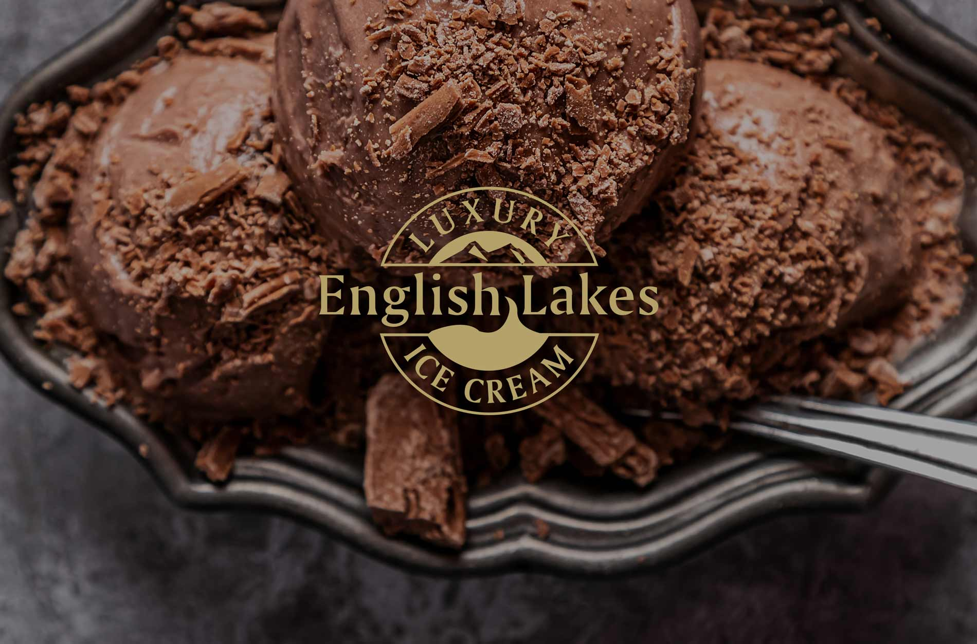 English Lakes Ice Cream Packaging Design