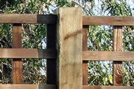 Oak Fence Posts Surrey