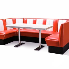 Kitchen Table And Chairs Set With Booth Ashley Dining Room Retro Furniture Diner  Hollywood 130 X 270