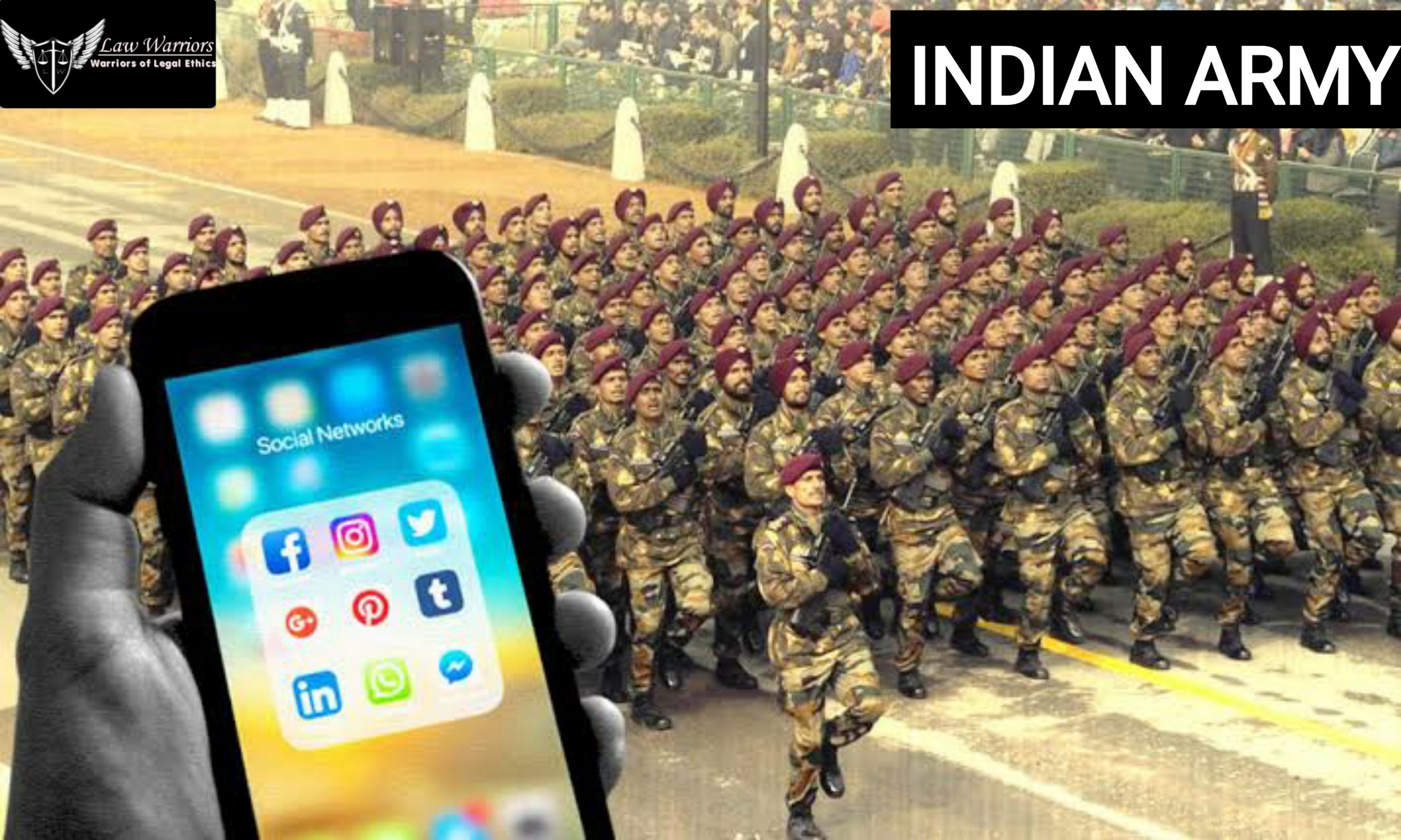 Delhi High court has asked the central government for the submission of the policy regarding the ban of social media in the armed forces.