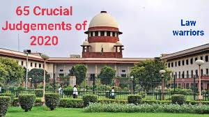 Supreme Court Review: 65 Crucial Judgements of Supreme Court.