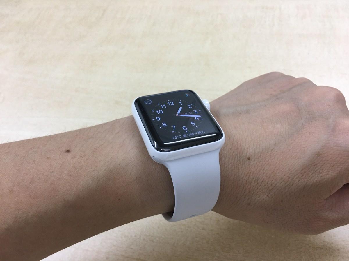 Apple Watch Edition – 42mmホワイトセラミックケースに似合うバンドは…