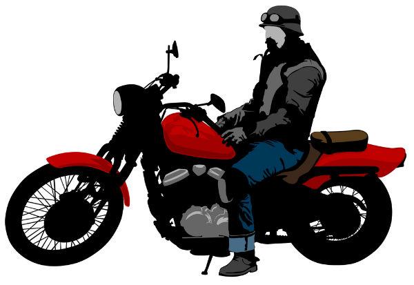 summertime motorcycle bike riders