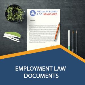 EMPLOYMENT LAW DOCUMENTS