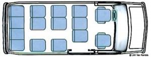 15 Passenger Transit Van