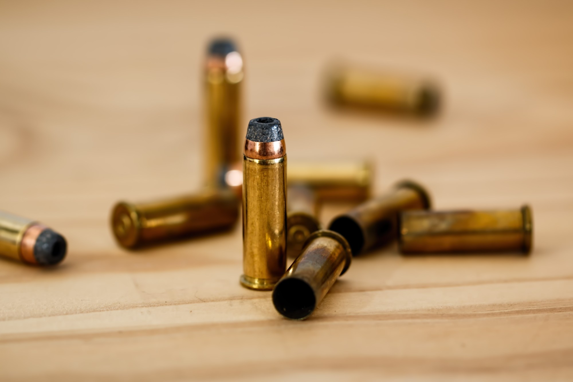 hight resolution of bulk ammo