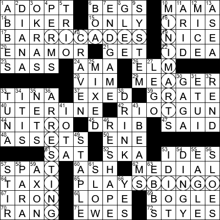Long Piece Of Wood Used As A Weapon Crossword Clue