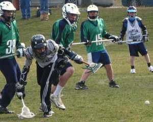 lacrosse one hand ground ball mechanical mistake