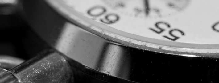 use a watch to time drills and games at practice