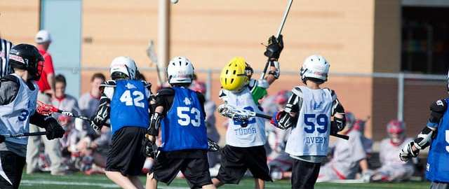 youth lacrosse bad pass
