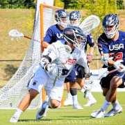 usa lacrosse blue white scrimmage