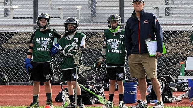 lacrosse coach sideline