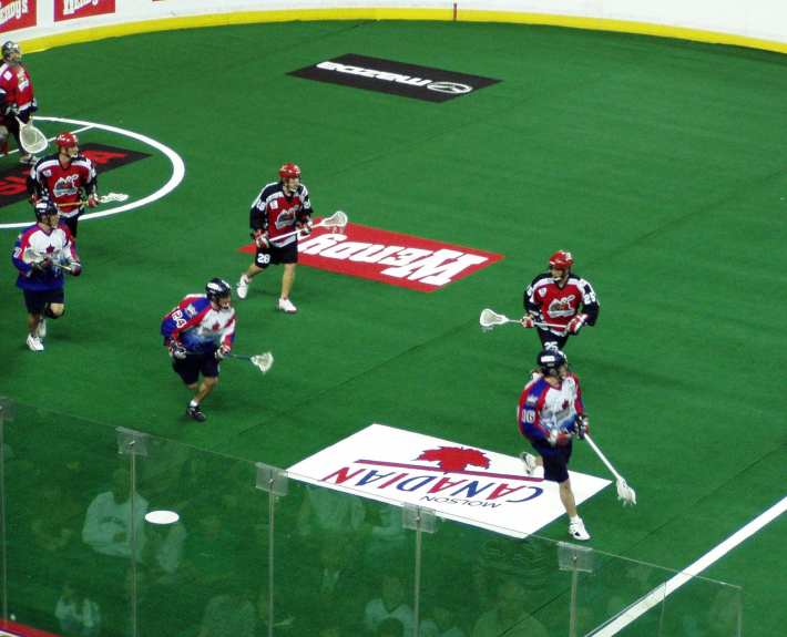box lacrosse double down strong side play
