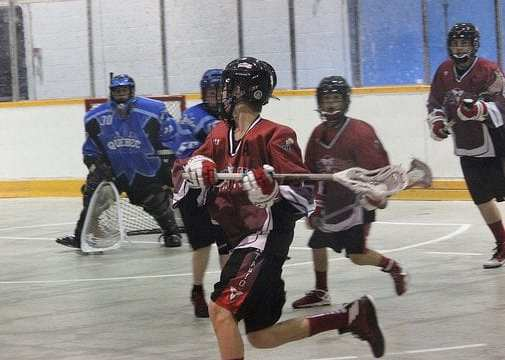 box lacrosse open gate man up double pick play