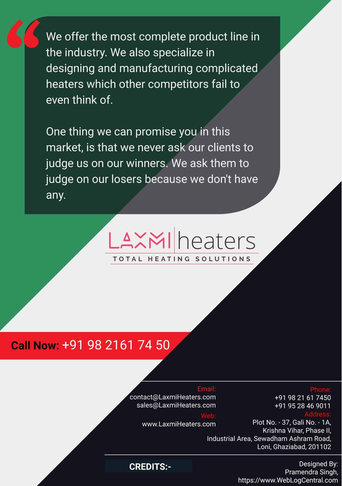 Company Brochure - Contact