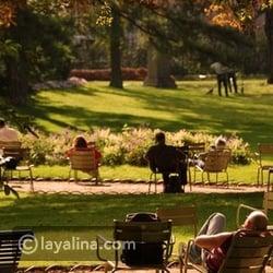 شهر العسل في باريس - حديقة لوكسمبيرغ