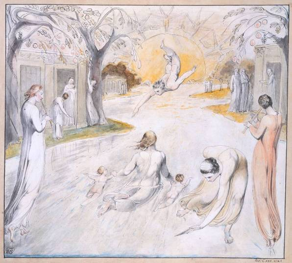 The River of Life circa 1805 William Blake 1757-1827 Bequeathed by W. Graham Robertson 1949 http://www.tate.org.uk/art/work/N05887