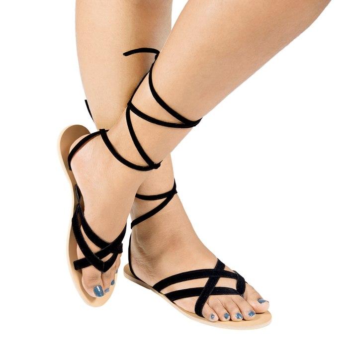 Laydeez Tie - fy Sandal (Beige Sole)