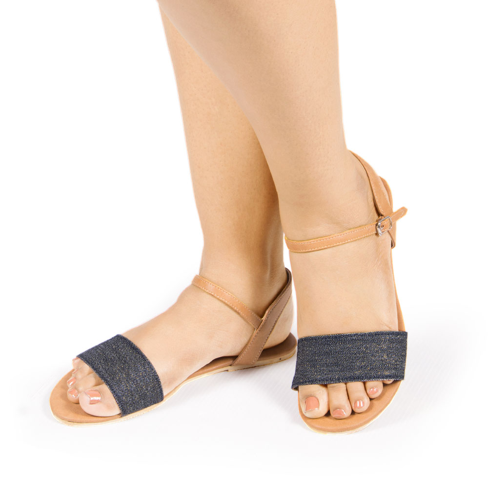 Laydeez Denim Love Sandals