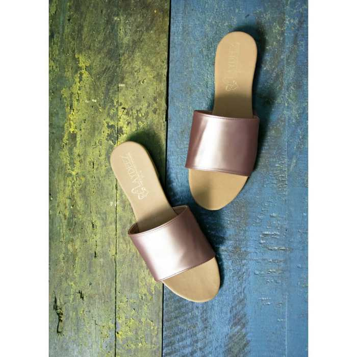 Rose Gold Slides