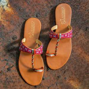 Laydeez Hippie Sandals Christmas Version