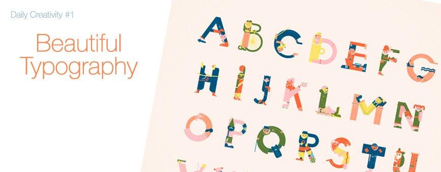 Daily Creativity 1 - Beautiful Typography