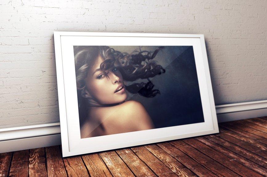 Photo Frame Mockup - White