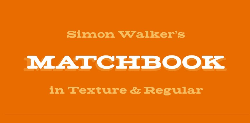 Best-Free-Fonts-Simon-Walker-Matchbook
