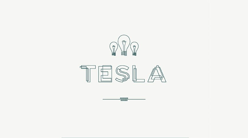 Best-Free-Fonts-Tesla