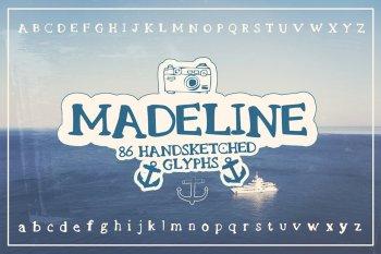 Madeline - Handsketched Font