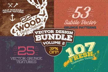 Vector Design Bundle Volume 2 by Layerform Design Co