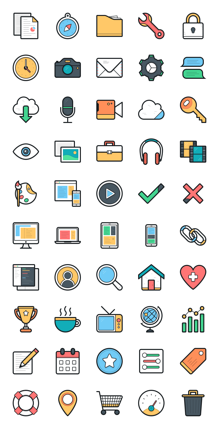 FREE Icon Pack by Layerform Design Co