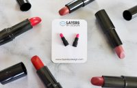 Lipstick Stud Earrings | Layers By Design