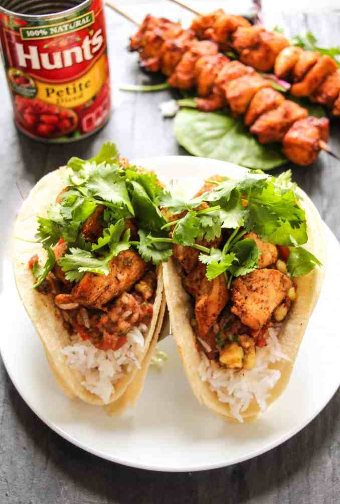 30-Minute Cajun Chicken Tacos with Sweet & Spicy Tomato