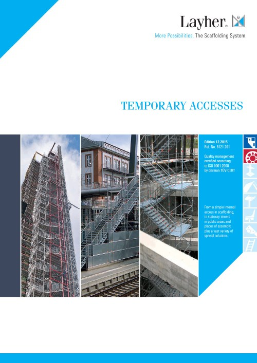 Layher Stair and Temporary Access Solutions